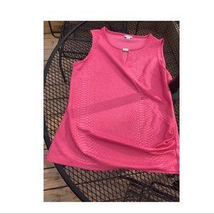 Calvin Klein pink top